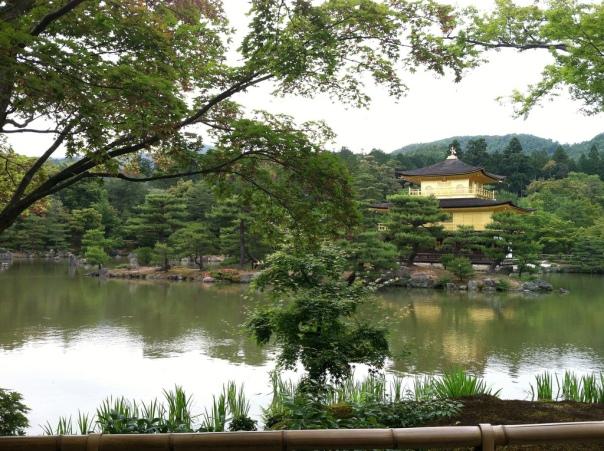 Kinkaku-ji from across the pond_9005453027_l